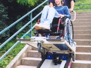 Преодоляване на стълби - STAIRMAX Public